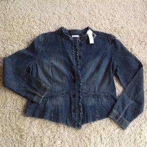 New York & Co XL Denim Jacket/Blazer